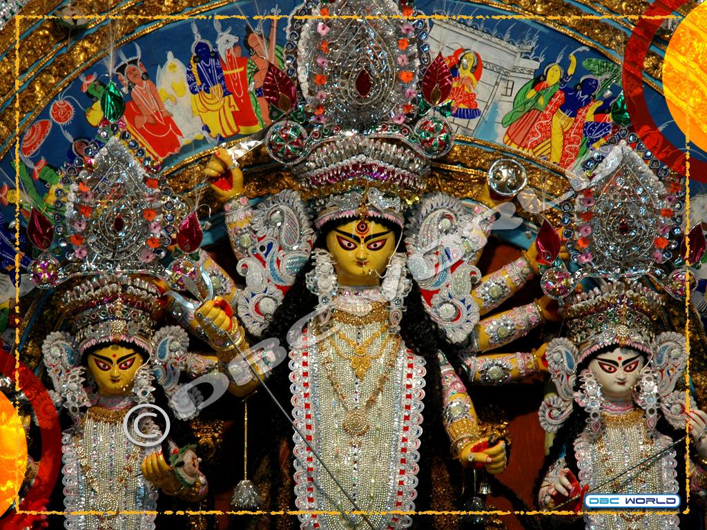 Durga Puja Festival 2018durga Puja Wallpaperwallpaper Of Sharad